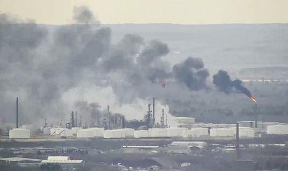 У США стався вибух на нафтопереробному заводі