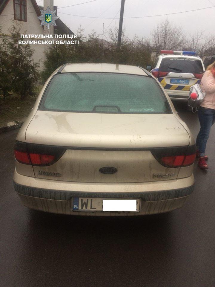 З двома посвідченнями водія та без жодних документів – на Волині затримали водіїв