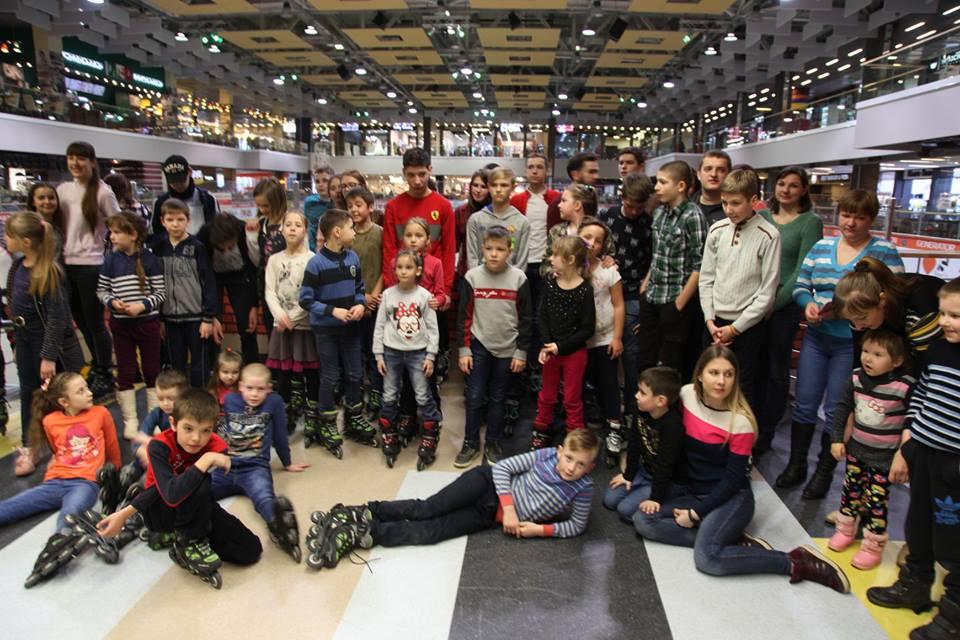 У Луцьку для дітей з родин Небесного легіону організували веселе дозвілля. ФОТО