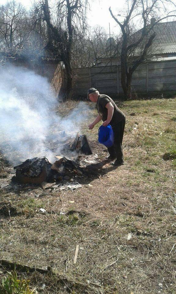 У Луцьку «любителів розведення багаття» змушують загасити вогнища