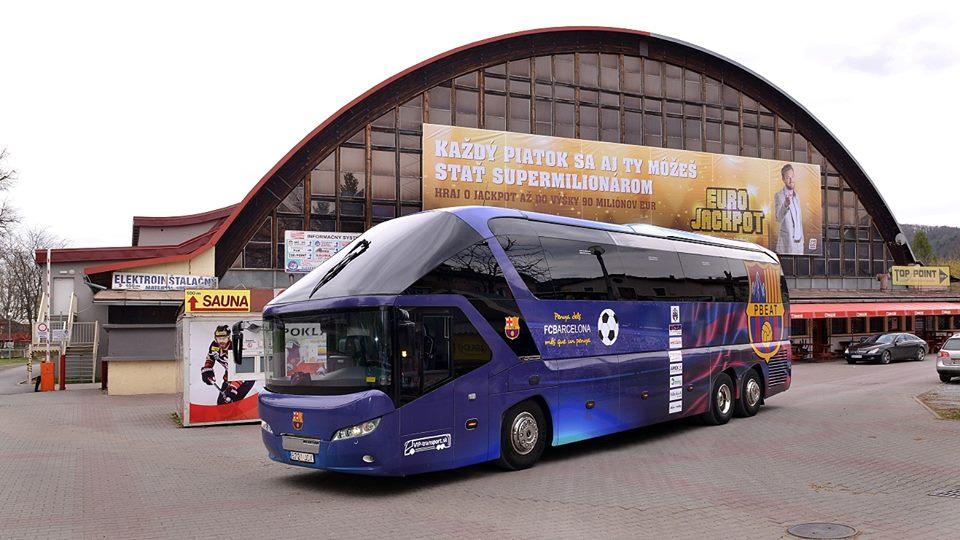 У Луцьк приїде автобус, який возив Мессі та Неймара