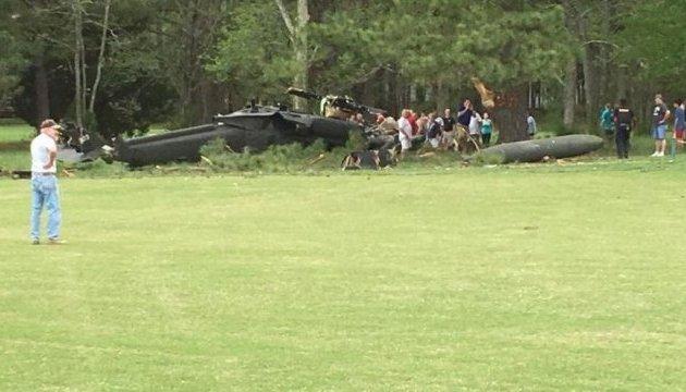 У США розбився медичний вертоліт, троє загиблих