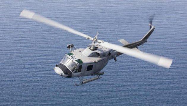 В Італії впав у море військовий вертоліт, загинула людина