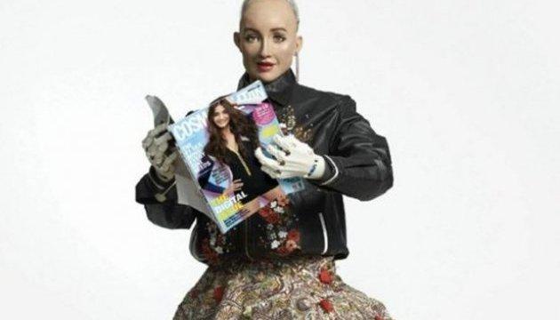 Робот Софія знялася для журналу «Cosmopolitan»