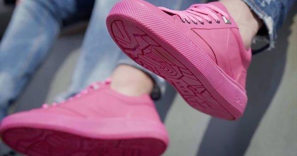 У Нідерландах виготовляють кросівки з переробленої жувальної гумки