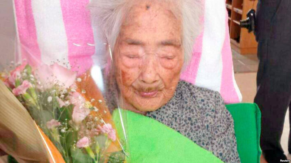 У Японії померла найстарша у світі жінка