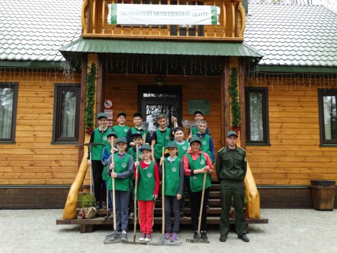 У Лісівничому молодіжному центрі провели генеральне прибирання. ФОТО