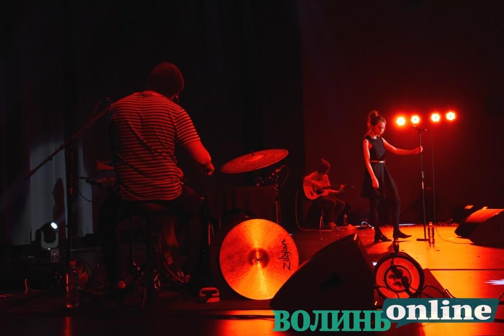 У Луцьку виступив гурт «Один в каное». ФОТОРЕПОРТАЖ