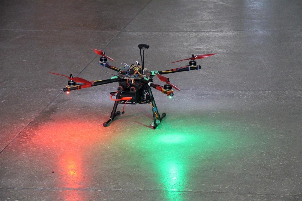У луцькому виші запустили безпілотні літальні апарати. ФОТО