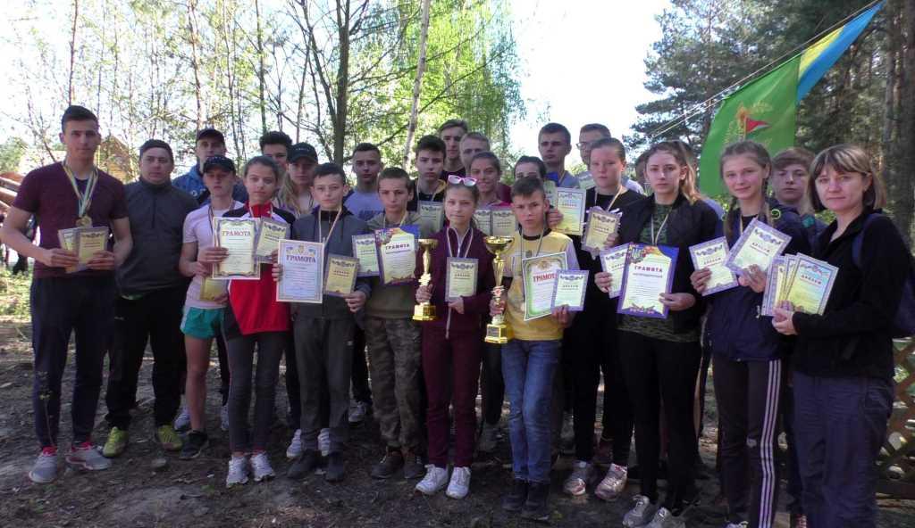 На Волині відбувся чемпіонат із спортивного орієнтування. ФОТО