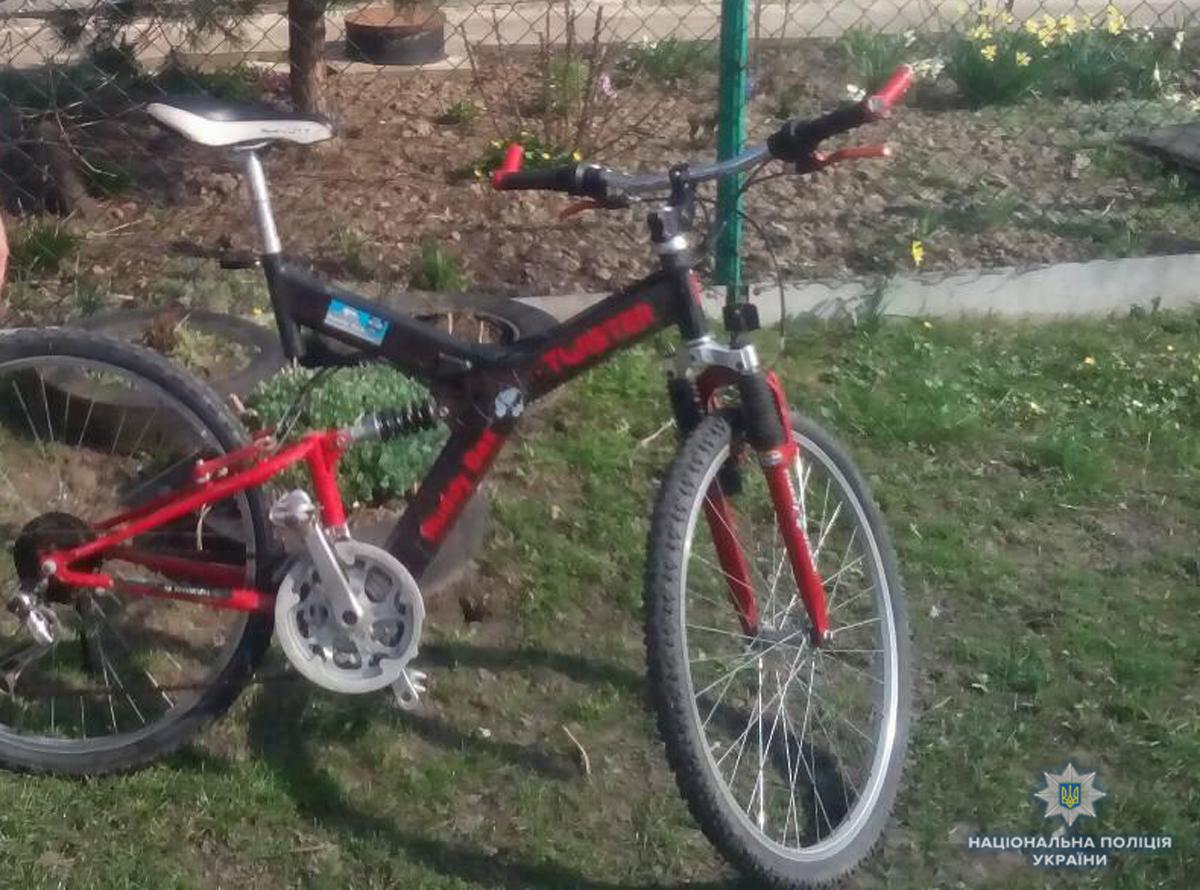 У Нововолинську поліція викрила велосипедного злодія