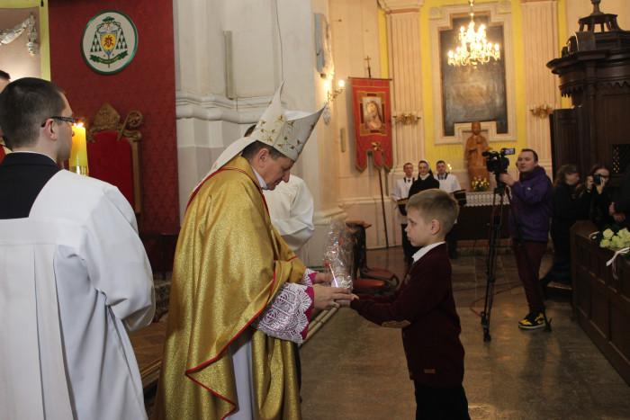 Луцькі католики святкують Великдень. ФОТО