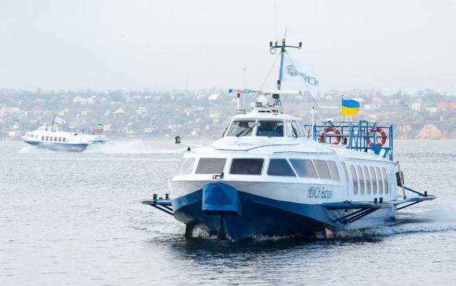 На півдні України відновлять річкові пасажирські перевезення