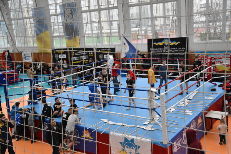 Луцьк приймає чемпіонат України зі змішаних єдиноборств. ФОТО