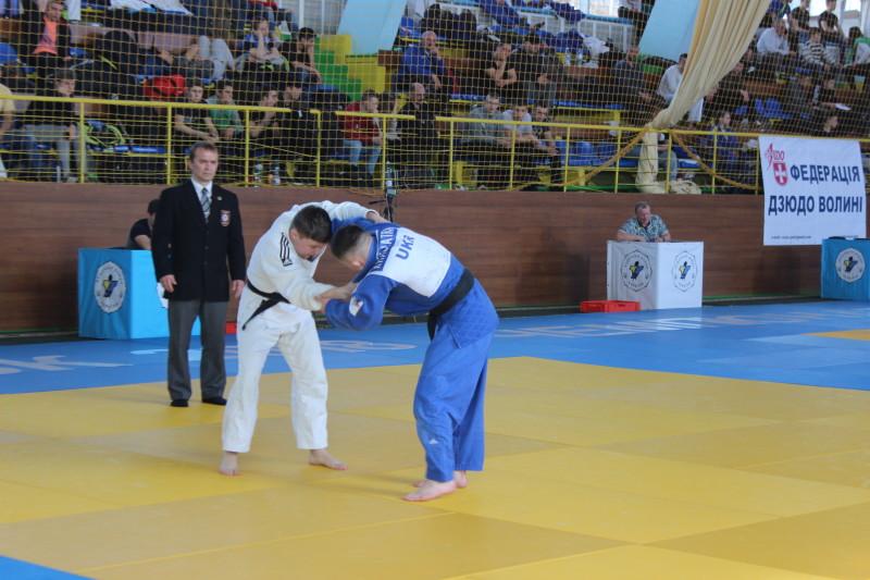 У Луцьку розпочався чемпіонат України з дзюдо серед юніорів та юніорок. ФОТО