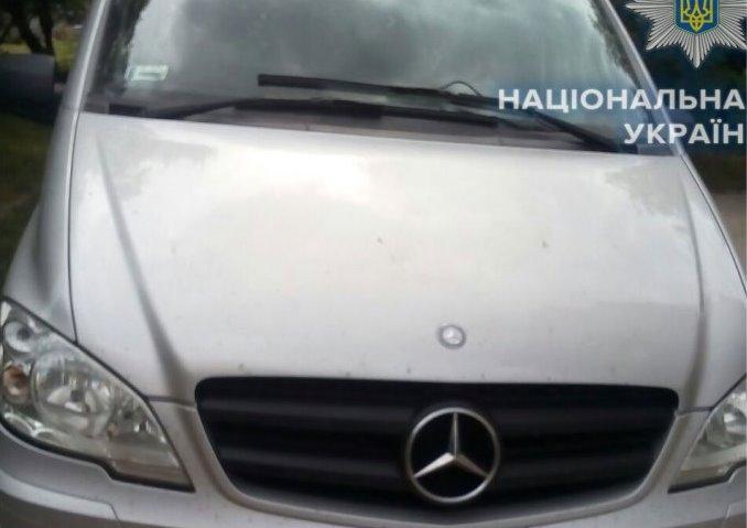 На Рівненщині виявили авто, яке викрали на Волині
