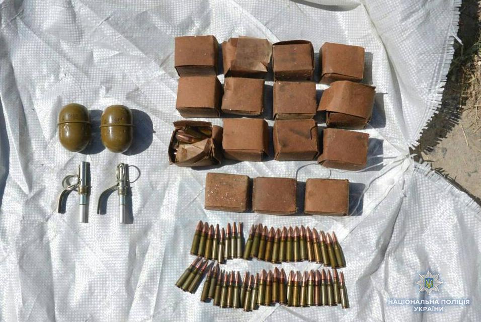 За добу поліція вилучила у волинян цілий арсенал зброї
