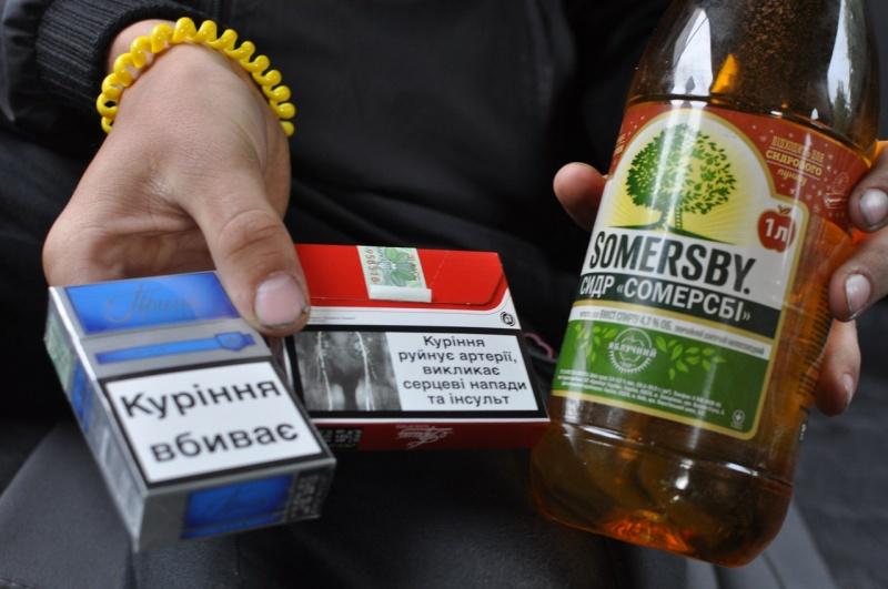 У Луцькому районі зловмисник викрав із магазину алкоголь та цигарки