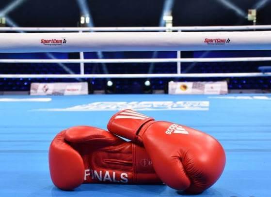 Волинський патрульний взяв участь у боксерському матчі в Польщі. ВІДЕО