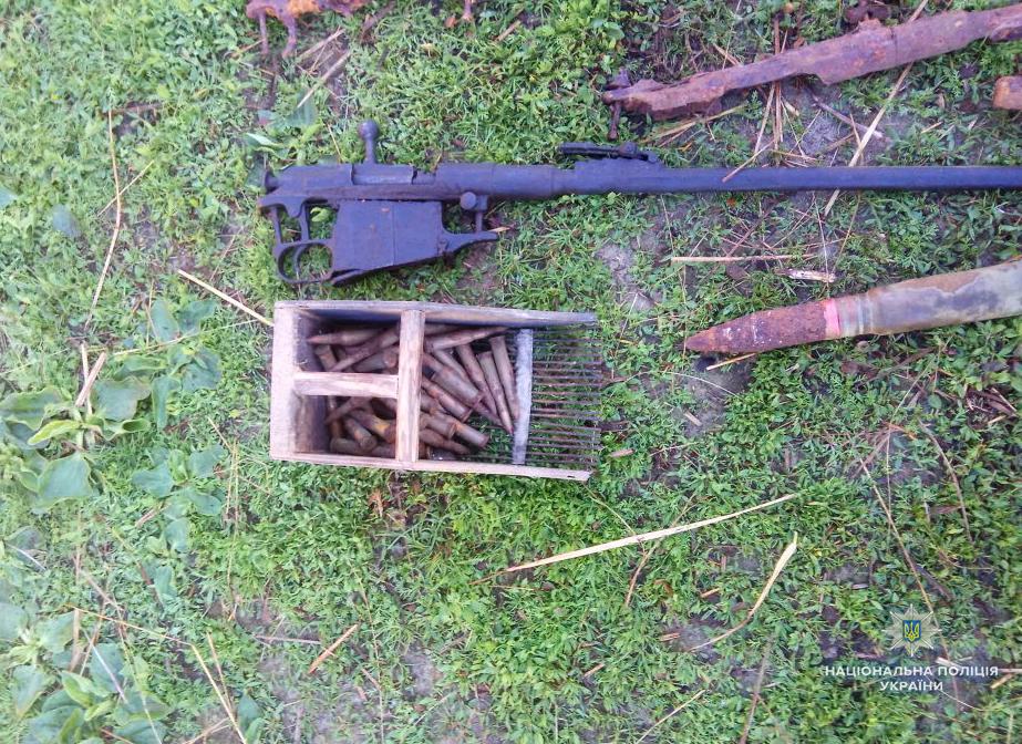 У волинянина виявили боєприпаси та зброю