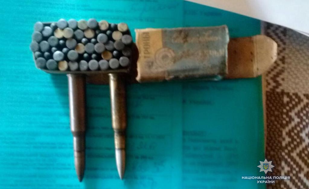 Поліція вилучила у волинян зброю та вибухівку