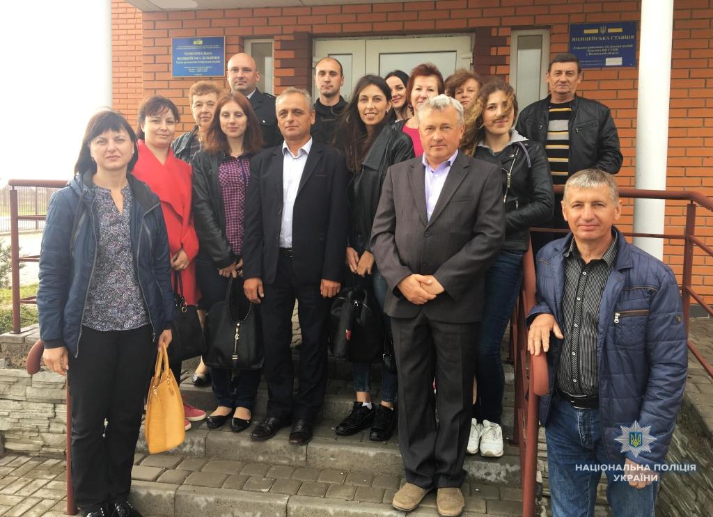 Волинські поліцейські ознайомили делегацію з Рівненщини з досвідом співпраці з громадами