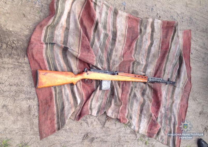 Гвинтівки, набої та порох: на Волині вилучили зброю. ФОТО