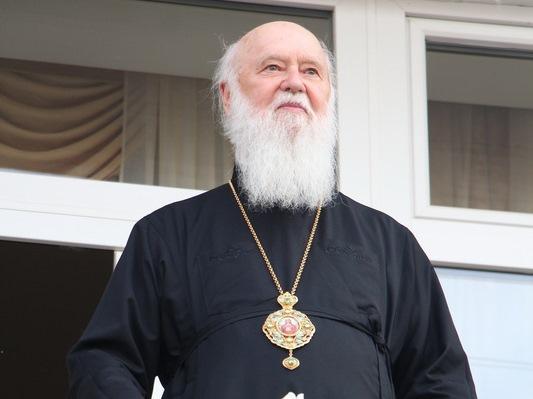 На свято Трійці в Луцьку перебуватиме Патріарх Філарет