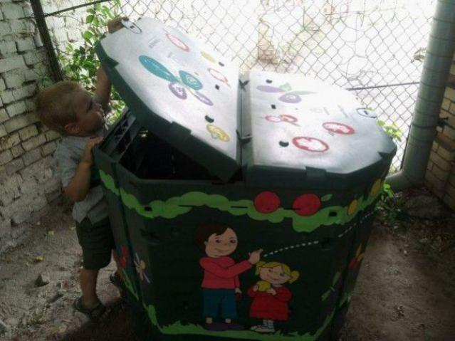У школах Волині компостуватимуть відходи з їдалень