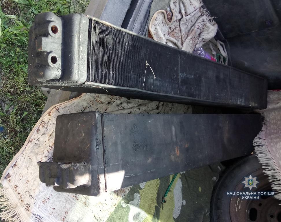 У Ковелі спіймали крадія радіаторів із тепловозу