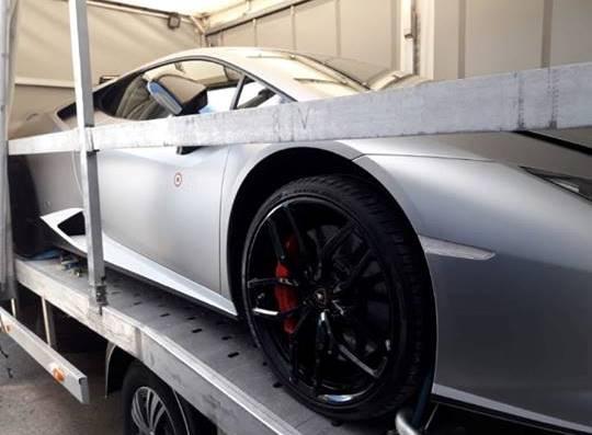 Через «Ягодин» хотіли незаконно перевезти «Lamborghini». ФОТО