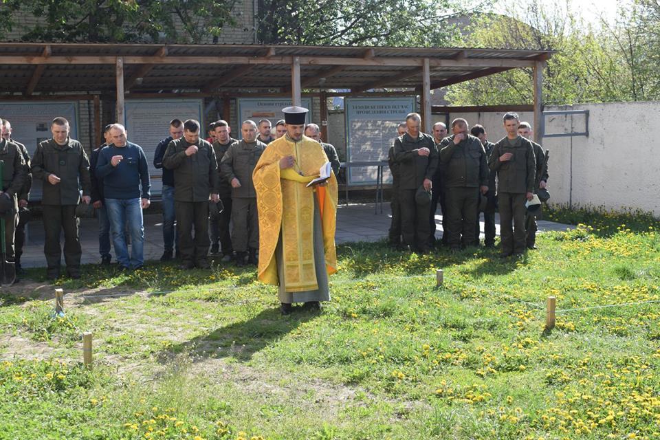 Луцькі гвардійці розпочали будівництво храму