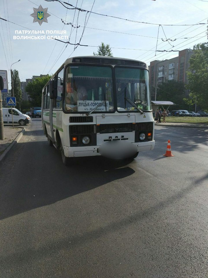 У Луцьку автобус збив дівчину — вона у реанімації