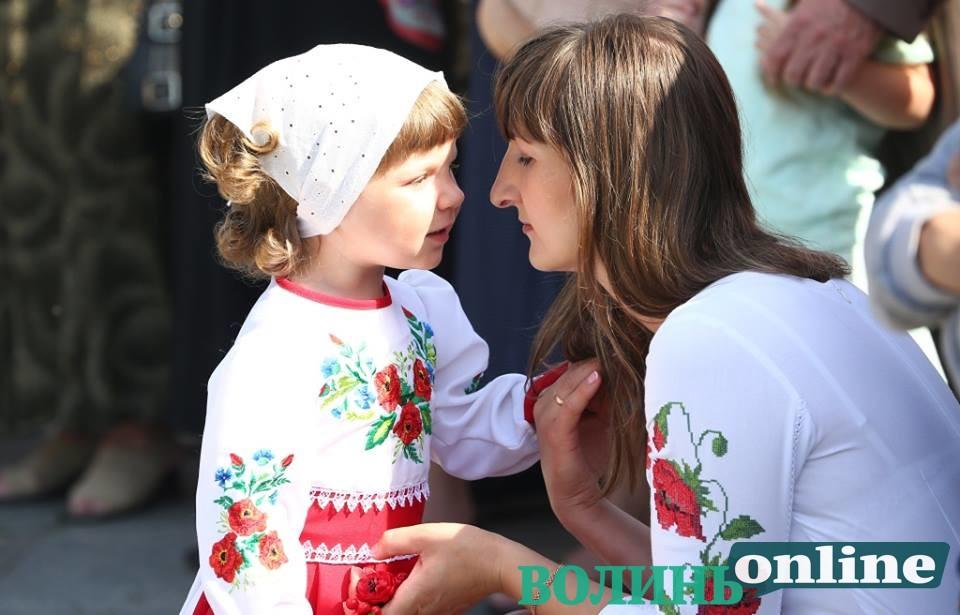 Дитяче обличчя Луцька у День перемоги. ФОТОРЕПОРТАЖ