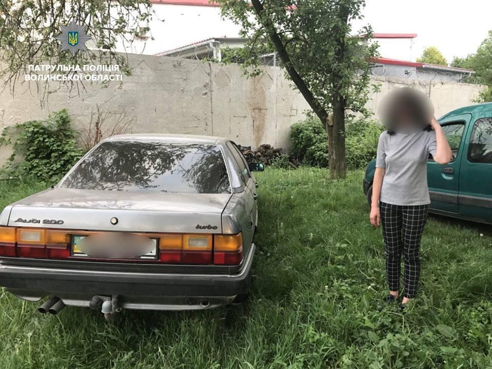 У Луцьку спіймали п'яну водійку без документів