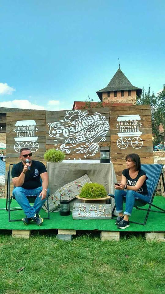 Єгор Грушин, дегустація вин та майстер-класи: програма спікер-зони «Lutsk Food Fest»