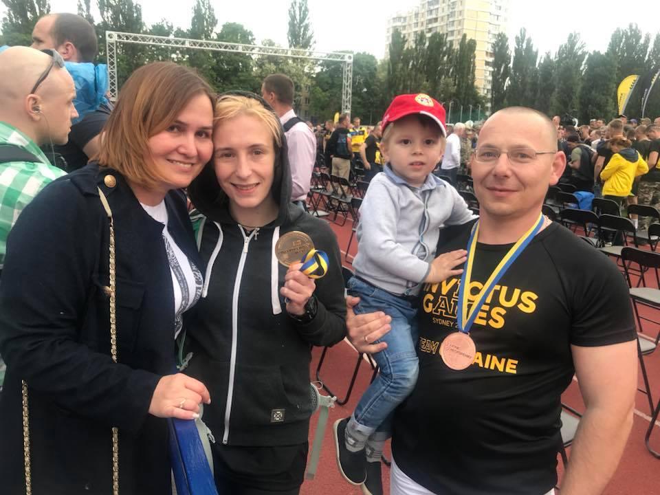 Волиняни везуть медалі з «Ігор нескорених». ФОТО
