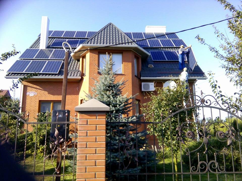Плюси і мінуси альтернативної енергетики: лучанин розповів, як користується енергією сонця