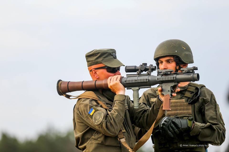 Нацгвардія поставила на озброєння американські гранатомети