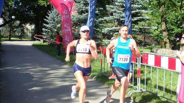 Волинський патрульний взяв участь у міжнародних змаганнях з вуличного бігу