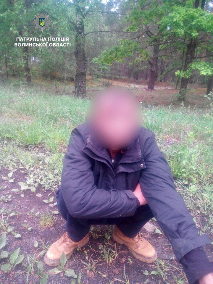Біля Маневич затримали підозрілих осіб, які мали проблеми з законом