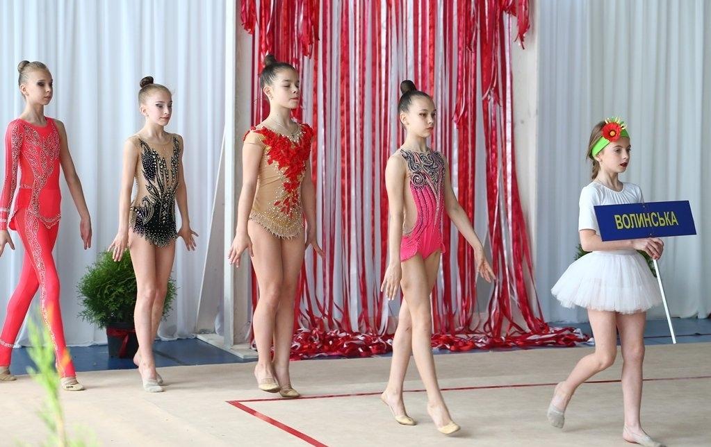У Луцьку відбувся чемпіонат України з художньої гімнастики