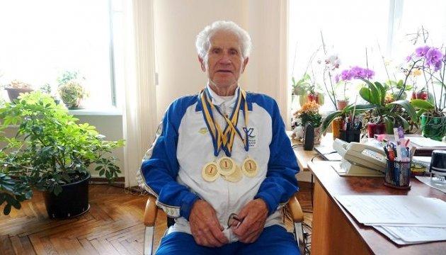 85-річний плавець із Житомира встановив три рекорди
