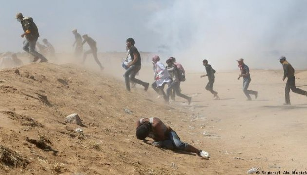 Нові сутички в Секторі Гази: один загиблий і 86 поранених