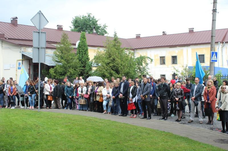 Лучани вшанували пам'ять жертв геноциду кримськотатарського народу. ФОТО