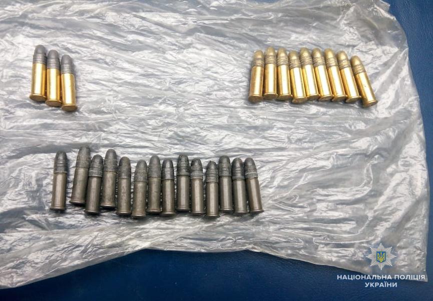 У ковельчанина поліція вилучила боєприпаси до малокаліберної гвинтівки