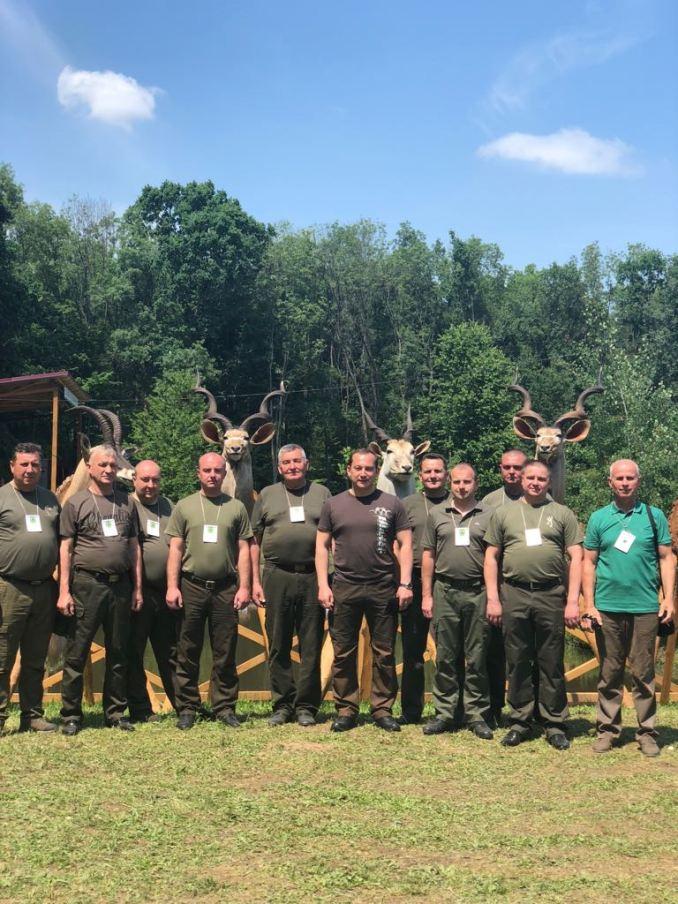 Волинські лісівники відвідали міжнародний мисливський фестиваль на Закарпатті