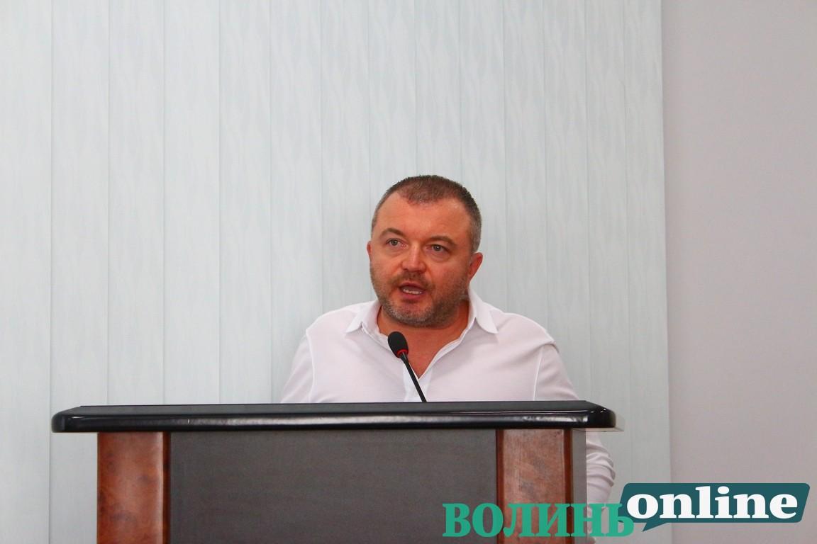Депутат Луцькради заявив, що на нього чинять тиск