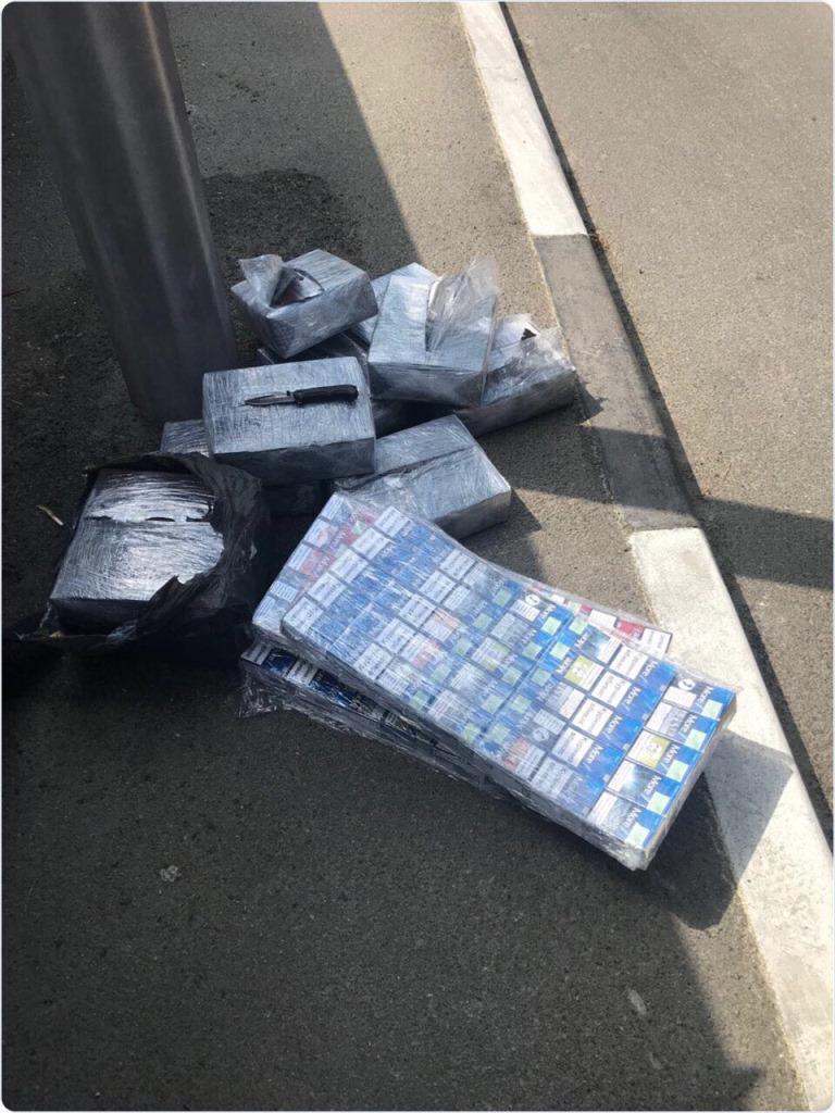 На «Ягодині» контрабандні цигарки заховали серед шлаку міді