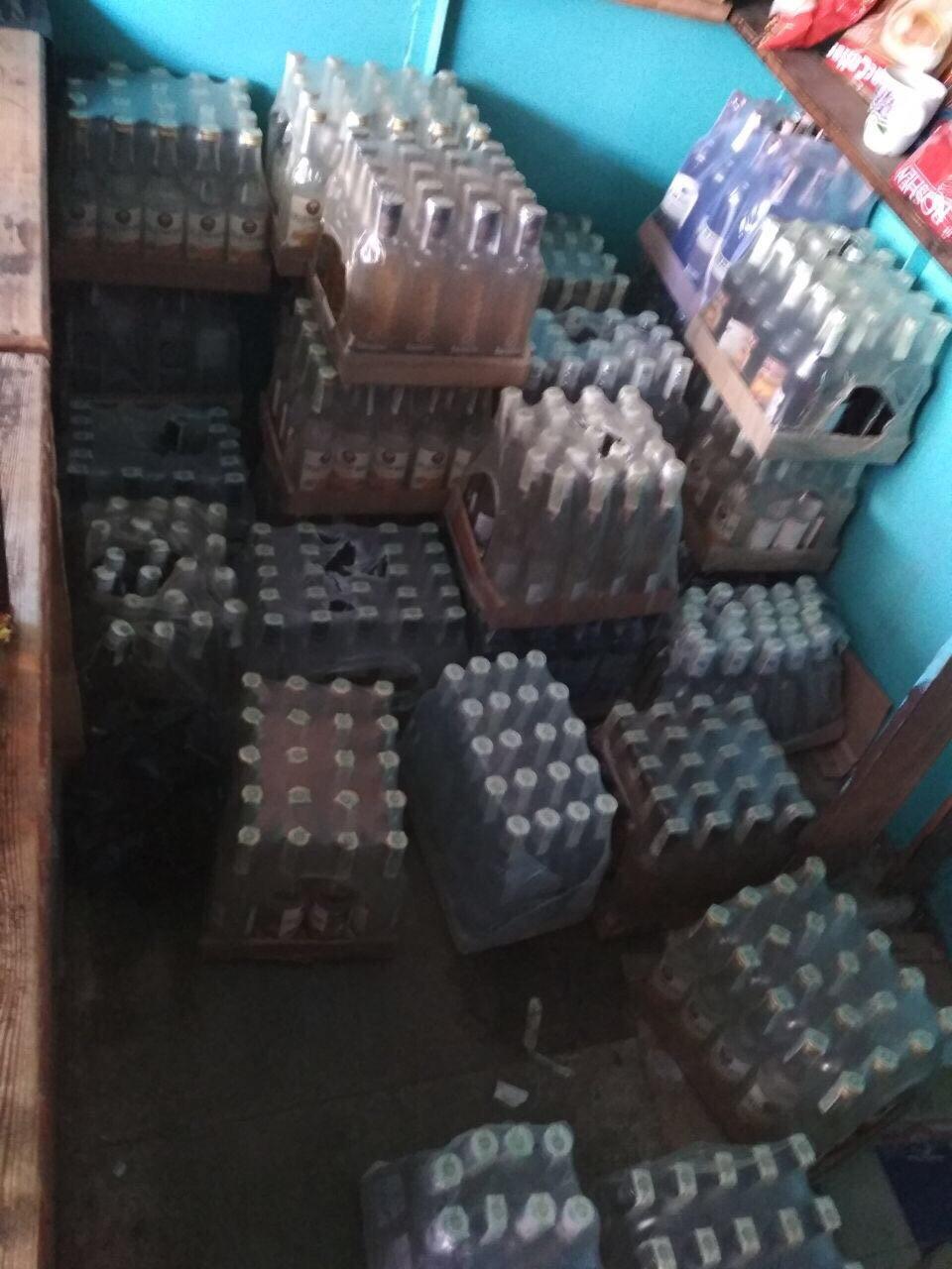 На Ратнівщині вилучили контрафактний алкоголь